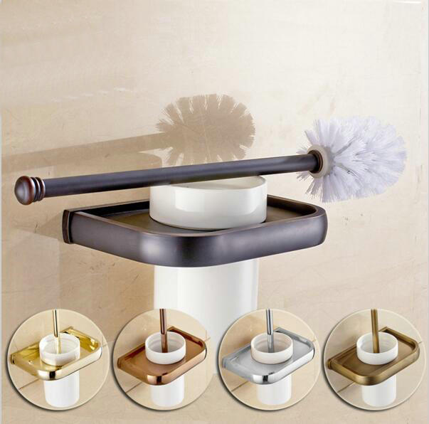 5 Color Free Shipping Toilet Brush Holder Best Quality