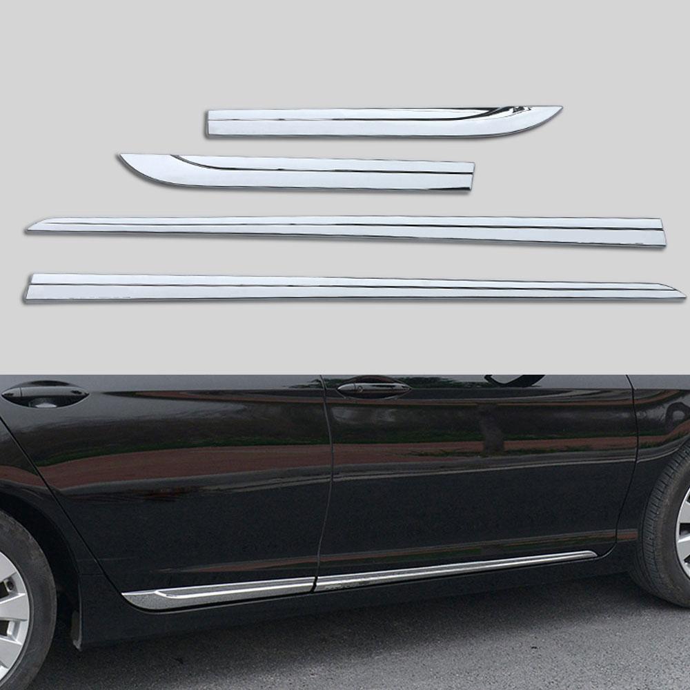 Bumper Trim For 2013-2015 Honda Civic Sedan Front Center Chrome CAPA