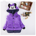 In 2016 The New New Children's Coat Mini Baby Winter Coat Coat Jacket Sleeves All Hot Girl Baby Fat Girl Clothing winter Coat