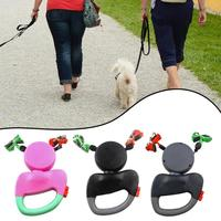 ABS Nylon Automatic Retractable Traction Rope Dog Chain with Two headed Creative Dog Leash Pet Supplies Dog Accessories
