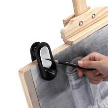 Многофункциональные скрепки фото пружинный зажим карандаш шлифовальный станок эскиз уголь полоса уголь шлифовальный Двусторонняя наждачная бумага