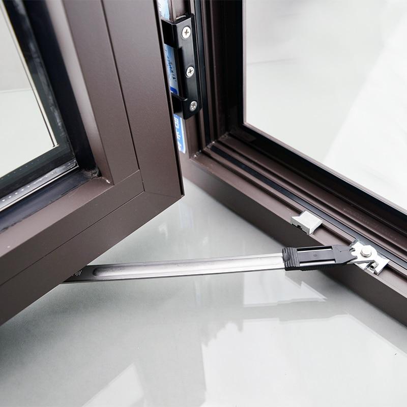 Stainless Steel Broken Bridge Aluminum Window Sliding Wind Bracing Limiter Inside Two-link Angle Controller Window Wind Support