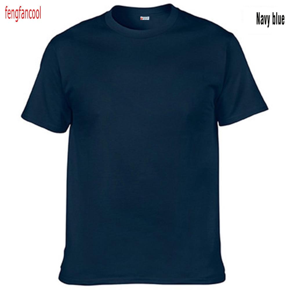 Fengfancool Marke 100% Baumwolle Männer leer T-Shirt, hochwertige - Herrenbekleidung - Foto 6