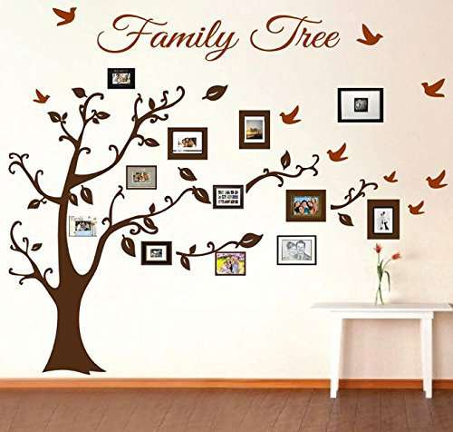 780e0cd72 Online Shop Large Family Tree Photo Wall Decal
