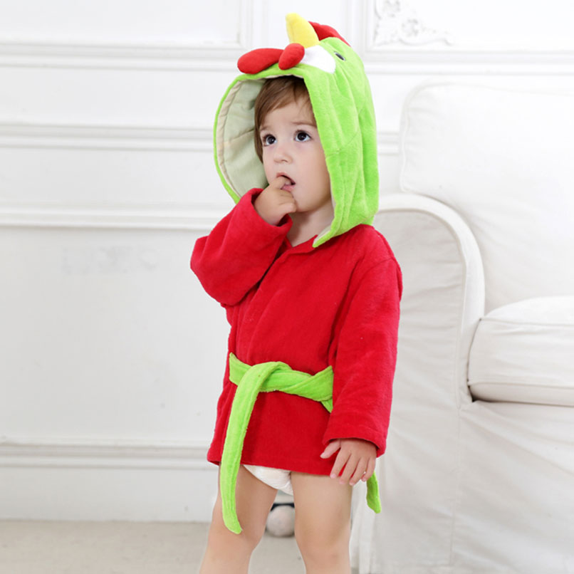 Baby Robe Monster bath towel bathrobe Cape animal Cute children Pajamas  Cartoon cotton boys Girls clothes Kids Play Mats-in Play Mats from Toys    Hobbies on ... 3155061ef