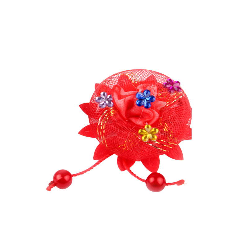 Flowers Hair Holder Gum Rope Kids Cute Hair Tie Accessories Elastic Scrunchie Styling Head Wear