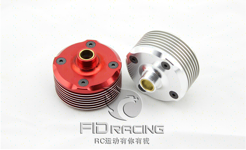 LOSI 5IVE-T Billet Diff Housing diff case 1 pc red and silver can choose losi 5ive t hd billet rear hub carriers