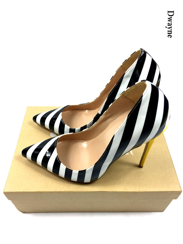 Brand Women Thin High Heel Pumps Woman Fashion Leopard Poitned Toe Thin Heels Pumps Ladies Shallow Mouth Heeles Shoes with box sexy pointed toe women high heels shoes elegant patent shallow mouth thin heels women pumps size 34 48 shoes woman ladies pumps