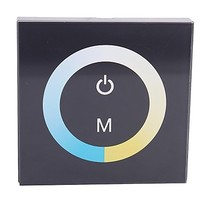 Glass 8A Touch LED Dimmer Switch Controller LED Changing (DC12V-24V) Free Shipping