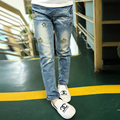 2016 new spring and autumn  kids children jeans pencil pants baby  girl jeans plus size hot sale