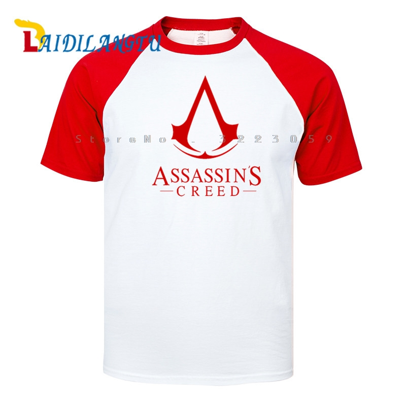 High Quality Hot Cool Game Unity Raglan Sleeve T-shirt Men t shirt O-neck tops men clothes Tee image
