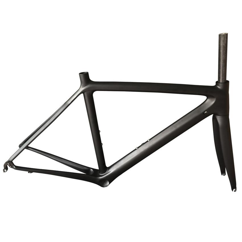SmileTeam Quick Shipping Super Light Road Bike Full Carbon Frame UD Matte Chinese Factory Carbon Frame  Carbon Bicycle Frame