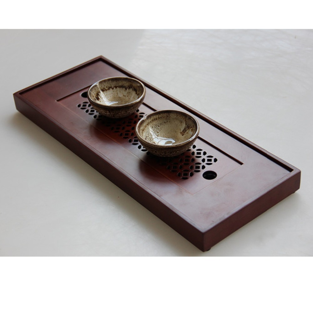 New Bamboo Gongfu Tea Tray Chinese Serving Table 38*15*2.8cm Small Size  Quality In Coffee U0026 Tea Sets From Home U0026 Garden On Aliexpress.com | Alibaba  Group