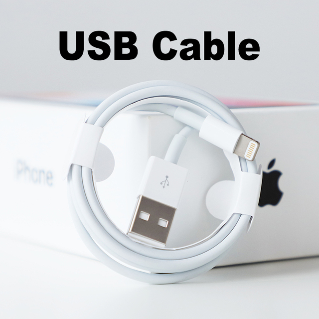 best service b3fc5 17dda US $17.99 |Apple Lightning to USB Cable | Apple Lightning Cable USB 2.0  Charging Cable for iPhone 5/5s/6/6s Plus/SE/iPad (Simple Package)-in Tablet  ...