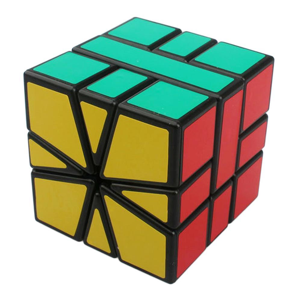 Shengshou Square-1 SQ1 3x3x3 Puzzle de viteză Cuburi Magico Puzzle viteză Clasic de învățare Jucărie educațională Transport gratuit