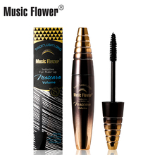 Music Flower Seductive Maskara Volume Tebal Lush Long Long Lasting Eyes Makeup Curling False Eyelashes Extension Liquid Waterpro