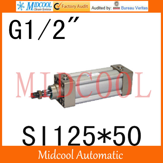 SI series ISO6431Standard cylinder SI125*50 port 1/2