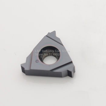 New Israel Original Vargus Vardex 3IR 14UN VTX Internal Thread Blade Carbide Inserts 3IR 14 UN VTX Cutting Blade Tool Black image