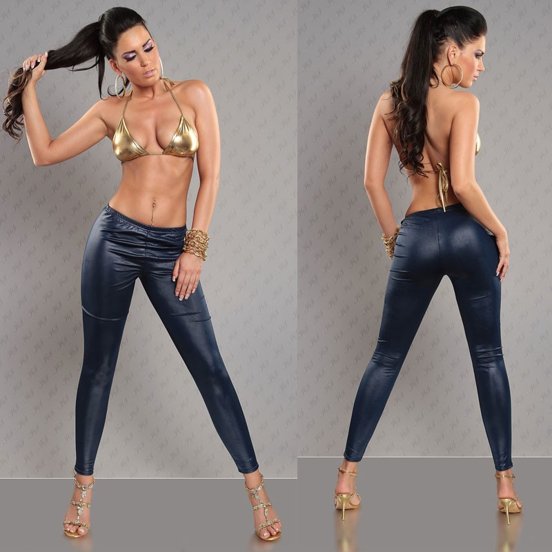 e3d7ae30789e3 Hot selling sexy leatherette leggings 8S8371-in Leggings from ...