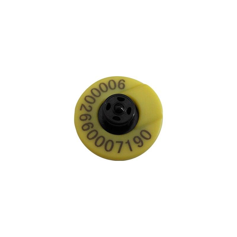 Étiquette d'oreille animale étiquette de bétail RFID x10 avec un applicateur de pince en métal - 2