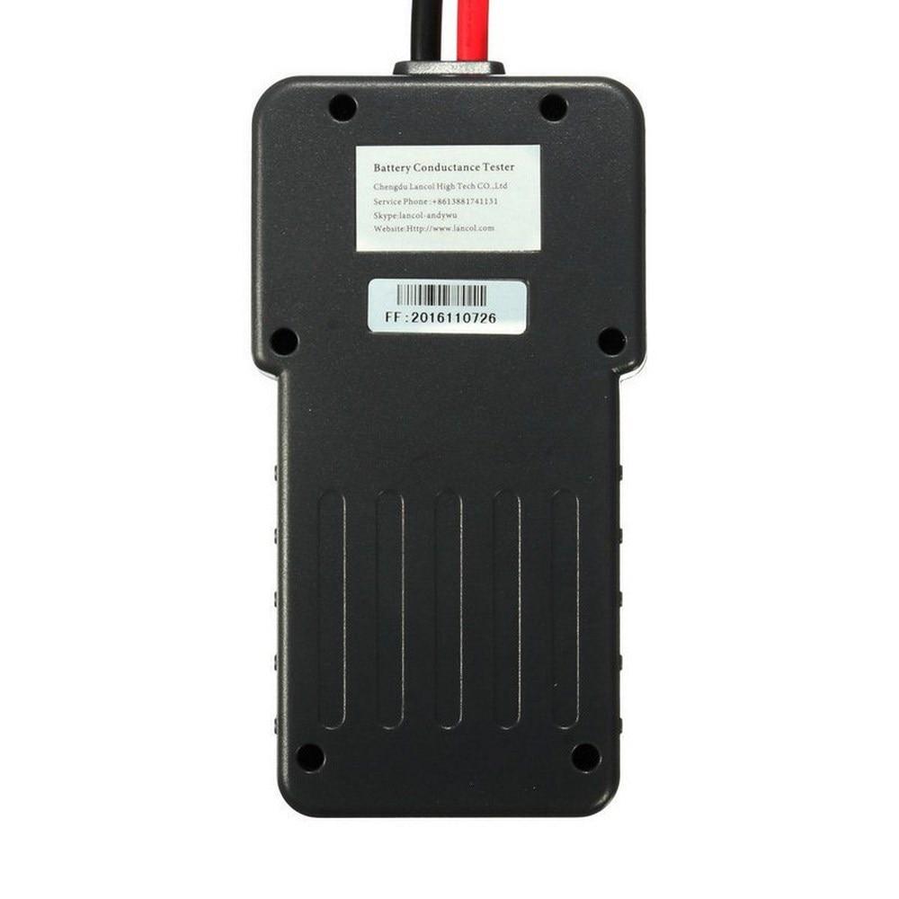 MICRO-200 battery tester lead-acid starter 12V Aumotive battery capacity tester With Inside Print CCA Car Battery Tester Analyzer (9)