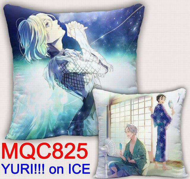 Аниме подушка двусторонняя Юрий на льду 1