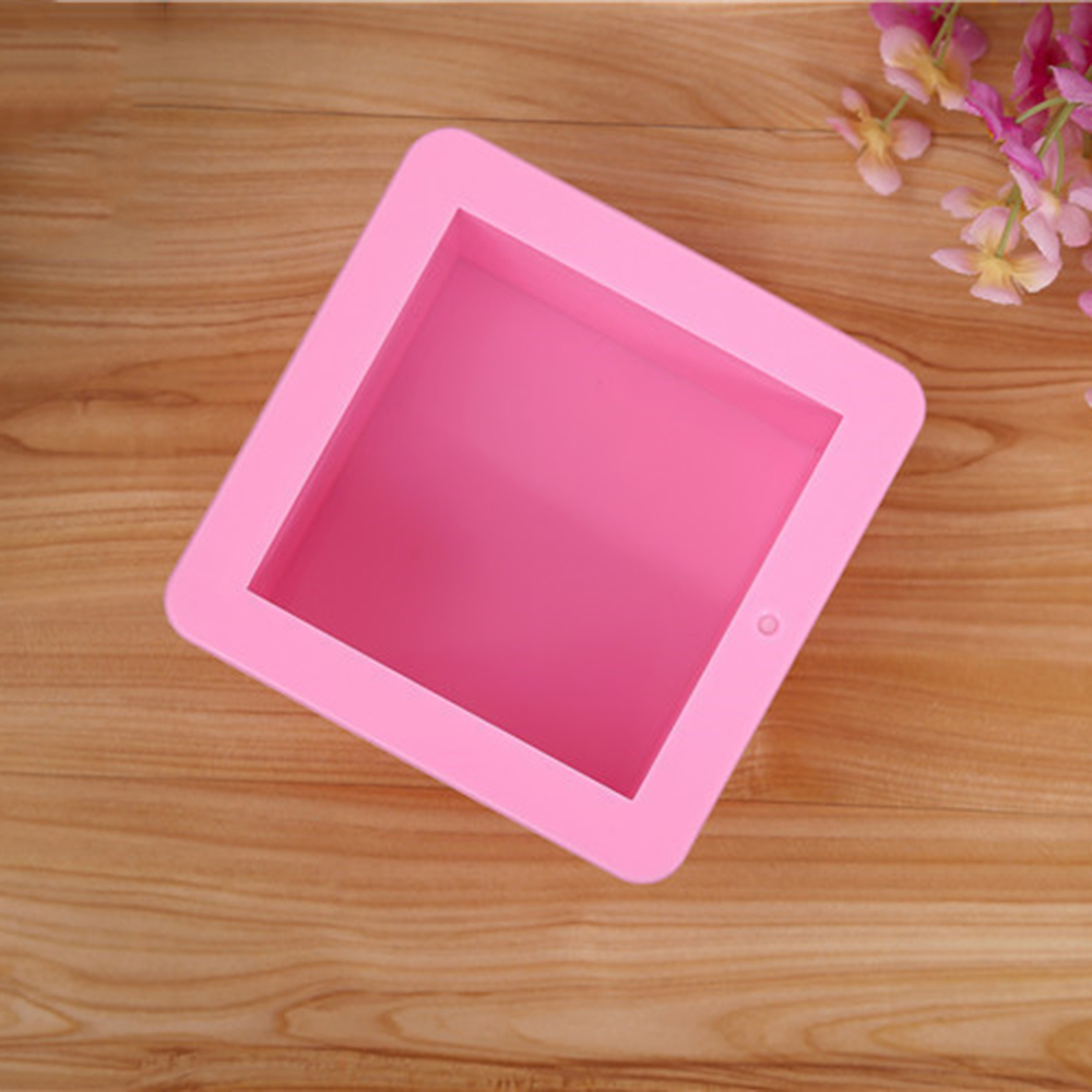 500ml Soap Mold Of Square Silicone Cake Bakeware Tool Oval Pudding Ice Cube Bread Pastry Hand Mould