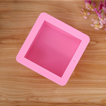 Soap Mold Hand-Mould Silicone Square Oval of 500ml Cake-Bakeware-Tool Pudding Pastry