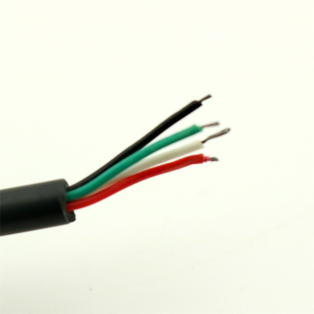 10pcs 35mm Mini Female Jack Stereo 4 Pin Wire Audio W Cable Cord Wiring Connector Diy 1ft In Video Cables From Computer Office On