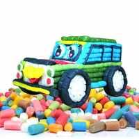 Amidon Miou enfants blocs de construction colorés magie maïs Plasticine enfants enfant jouet noyaux noël Intelligent TY0009