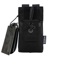 OneTigris Tactical MOLLE Short Radio Pouch For BaoFeng UV 5R BF F8 UV 82 Carry Pouch
