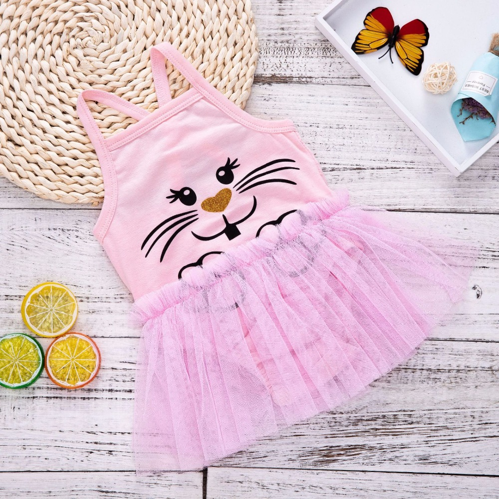 1st Birthday Outfits Beachwear New Pink Summer Romper Dress Baby Infant Girl Clothing Newborn Clothes Stuff Summer Outfits Mesh