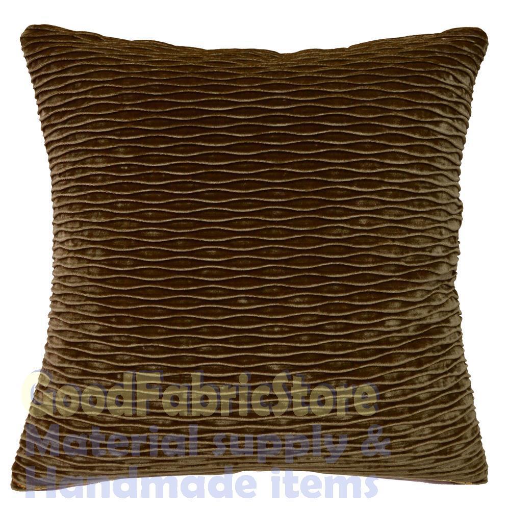 mp 04a Bronze Brown Folds Pattern Shimmer Velvet Cushion  : mp 04a Bronze Brown Folds Pattern Shimmer Velvet Cushion Cover Pillow Case Custom Size 16x16 18x18 from www.aliexpress.com size 996 x 1000 jpeg 155kB