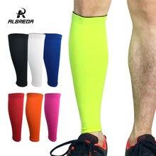 ALBREDA, для мужчин и женщин, базовый слой, компрессионные гетры для ног, для велоспорта, гетры для бега, футбол, баскетбол, спорт, Поддержка голени, 7 цветов
