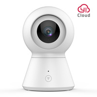 Smart Dome Camera 1080P Baby Monitor Wi Fi Home Cam Pan/Tilt/Zoom Wireless IP Security Camera Night Vision Cloud Powered by YI