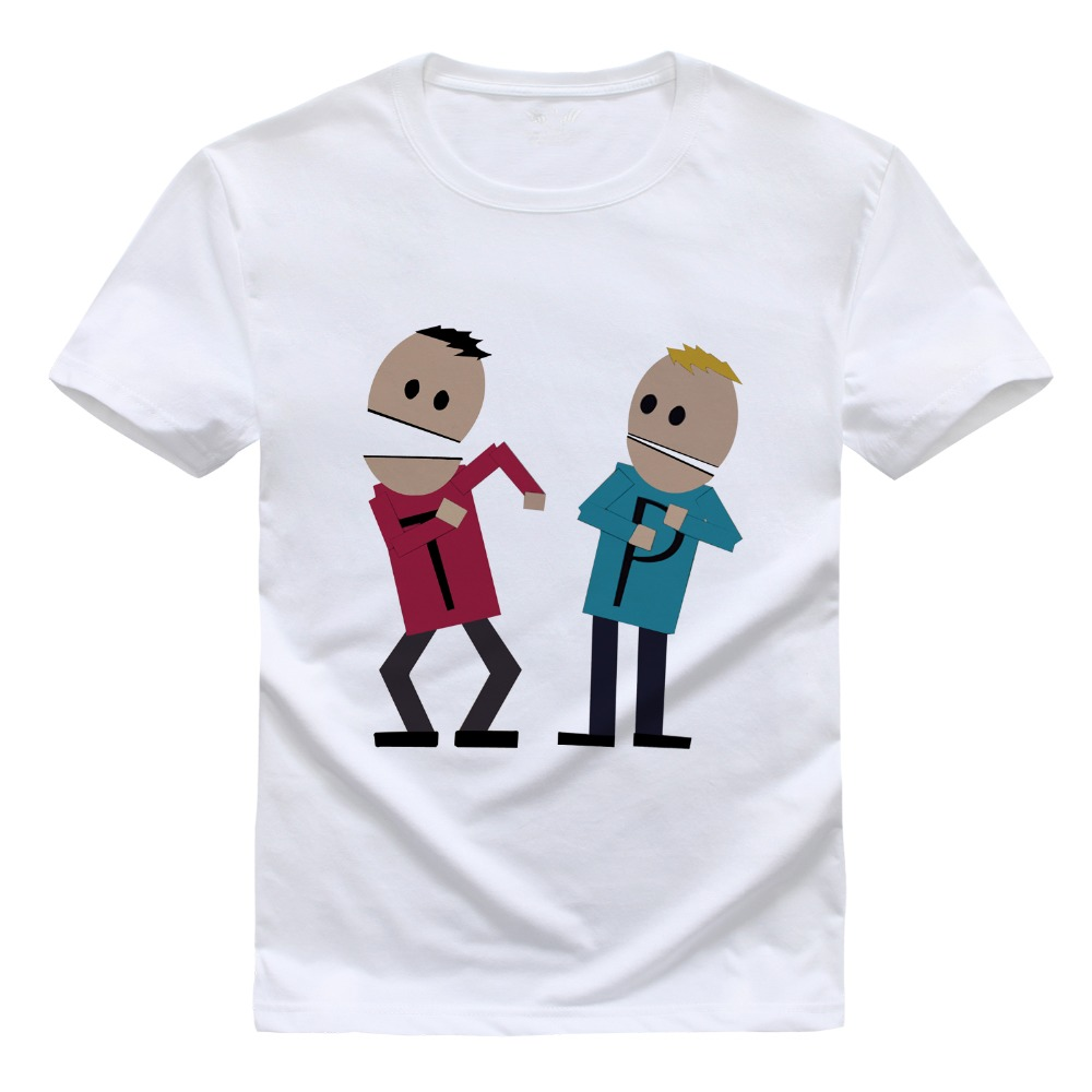 New Summer Fashion T Shirt Mens Clothing Cartoon Sitcoms SOUTH PARK T-shirt 3D Print T Shirt Men Short Sleeve t-shirt 1