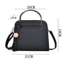 37064ffee66ca Women Girls PU Leather Shoulder Bag Shell Shape with Circle Ring Handbag  Crossbody Bags 88 Best