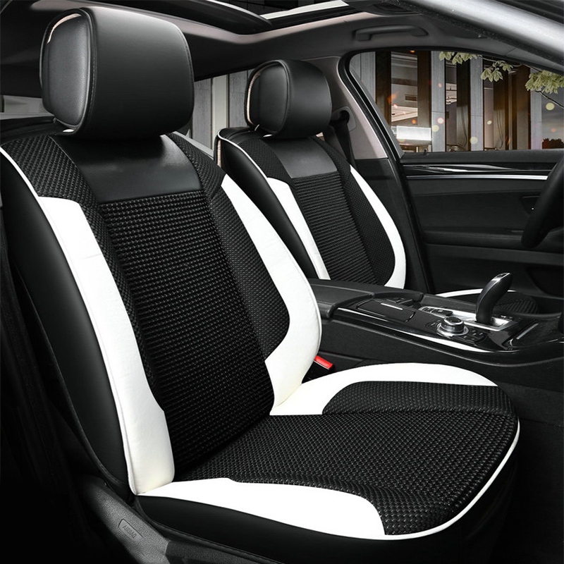 Car seat cover seat covers for mg 6 MG6 2014 2013 2012 2011 2010 2007 ( front rear ) special leather auto cushion