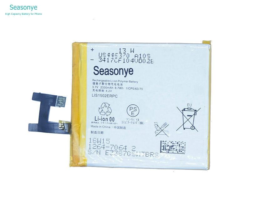 LIS1502ERPC Seasonye 2330 mAh Batteria di Ricambio Per S39H C Z L36H L36i LT36 LT36H LT36I C6603 C6602 C660X C6600 C2305 SO-02E