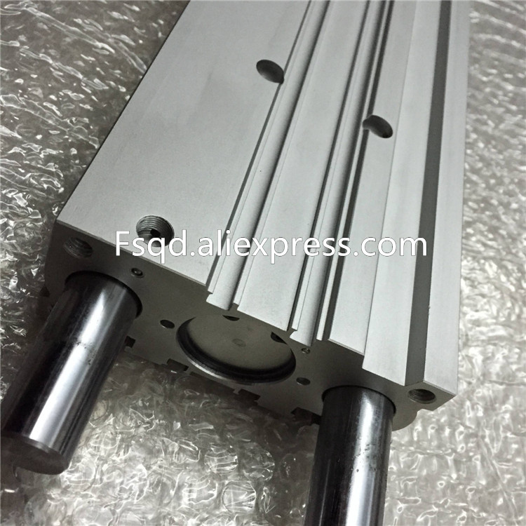 MGPM32-250A MGPM32-300A MGPM32-350A MGPM32-400A SMC compact guide cylinder Thin Three-axis cylinder with rod cylinder MGPMseries 41 1mm 350 cylinder