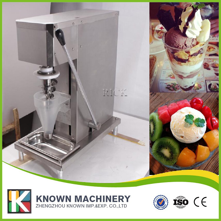 New model food grade stainless steel shipping real fruit frozen yogurt blending machine ice cream mixer on promotionsNew model food grade stainless steel shipping real fruit frozen yogurt blending machine ice cream mixer on promotions