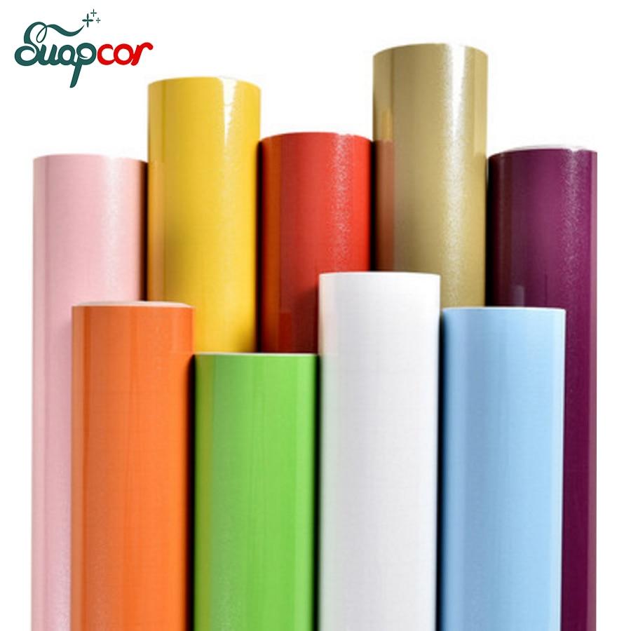 Glänzend diy dekorative aufkleber vinyl pvc selbstklebende tapeten für küchenschrank wandaufkleber möbel wasserdichte folie