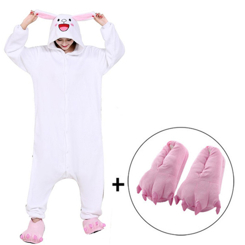 Adult Woman Costume Bunny Rabbit Bodysuit Pink Size Small 2 Pc