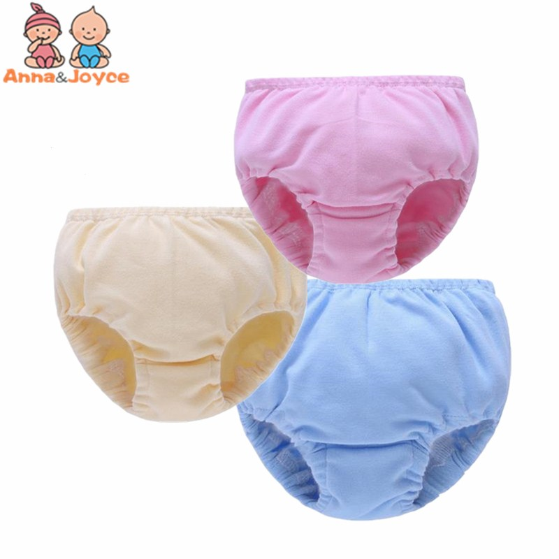 30Pc/lot The Soft Children Y Infant Nappy Cloth Diapers Comfortable Cotton Baby Nappy Underwear Pants