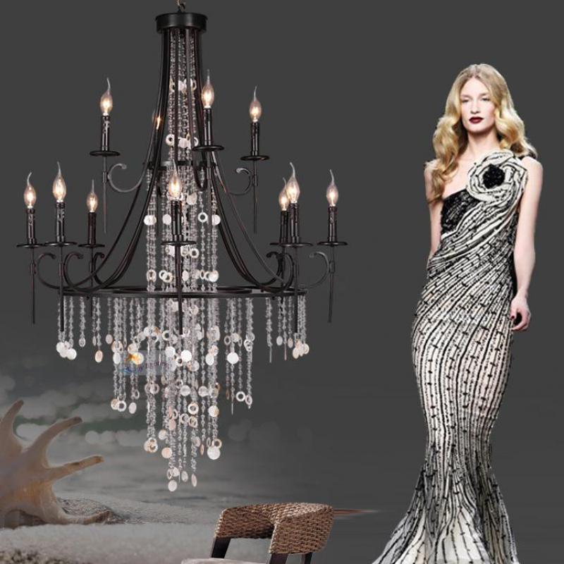 Crystal Chandelier Trash Club: Antique Bar Chandelier Luminaria Luxury Crystal Chandelier