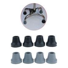 4 шт. 5/8 дюйма 16 мм безопасная мягкая сменная резиновая трость костыли подвижная помощь для стабильности