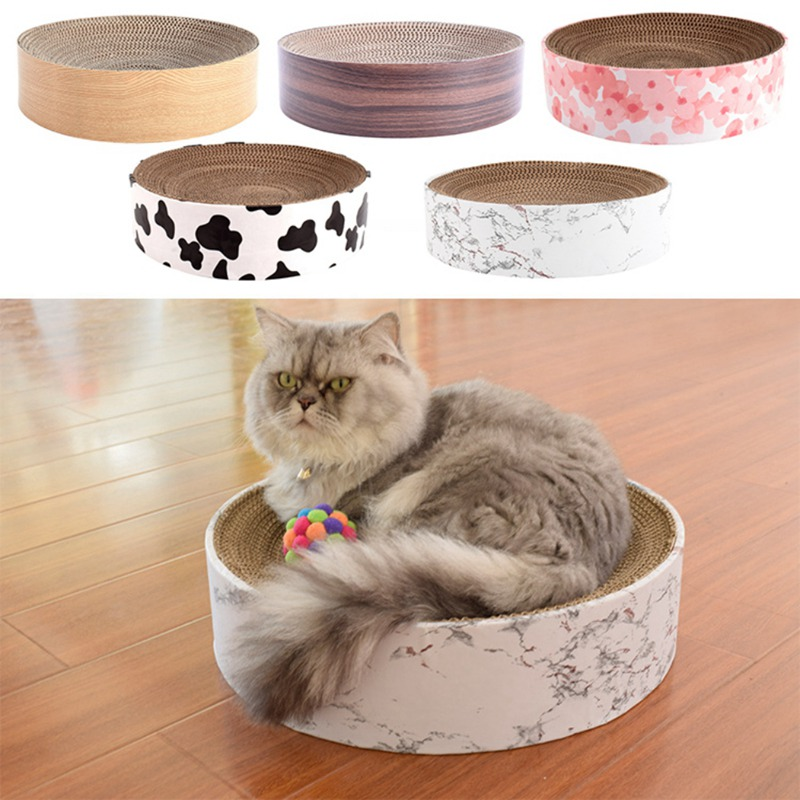 Cat's House Bowl Shaped Scratching Board Large Cat Sofa Corrugated Paper Pad For Grinding Claw Exercise Cats Bed