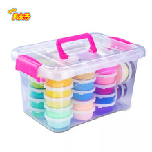 36 colors/set play dough School teaching kit super light clay The colors are bright and resilient Color soil