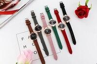 relojes mujer 2018 Luxury Brand Gogoey Women Watches Personality romantic starry sky Wrist Watch Rhinestone Design Ladies Clock 5