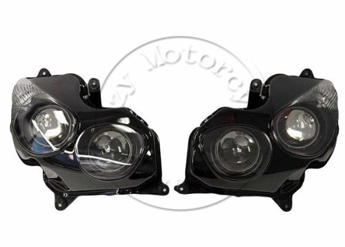 Motorcycle Front Headlight For kawasaki ZX-14 ZX14R ZZR1400 2006-2011 Head Light Lamp Assembly Headlamp Lighting Moto Parts tamiya 14111 1 12 kawasaki zzr1400 motorcycle model motorcycle assembly